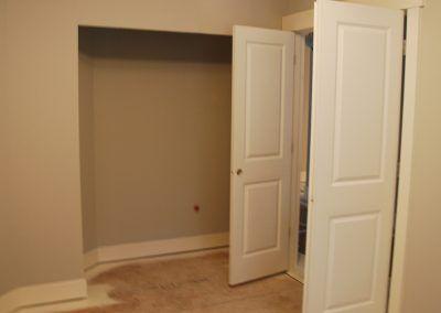 Den with double door entry