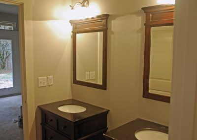 Master Bathroom with Separate Vanities
