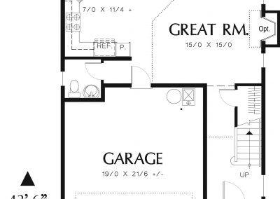 1466 - Main Floor Plan