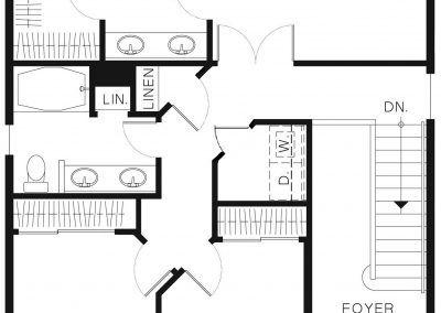 1466 - Upper Floor Plan
