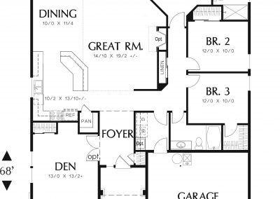 1850 - Floor Plan