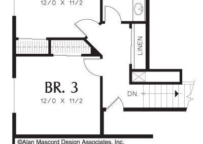 2018 - Plan - Upstairs